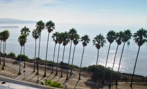ocean view from Bren Hall, UCSB